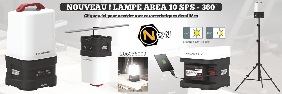 Image Lampe AREA 10 SPS réf 206036009